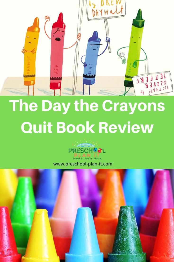 The Day the Crayons Quit Book Review