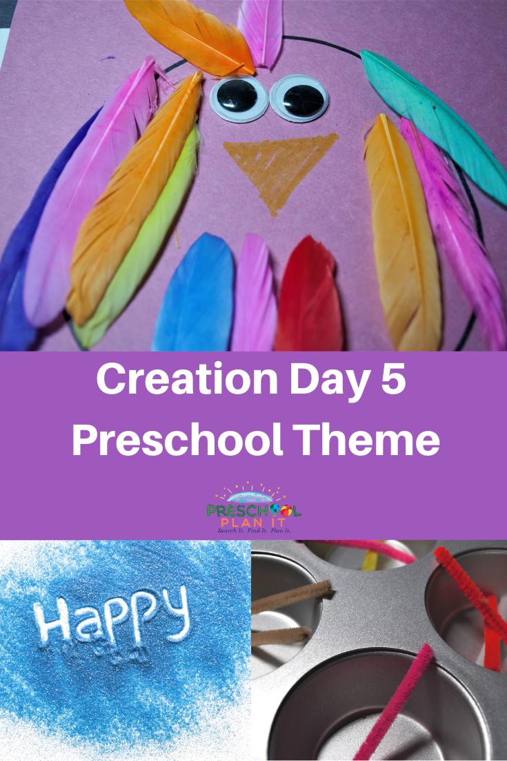Creation Day 5 Preschool Theme