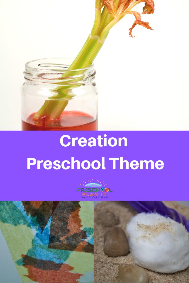 Creation Theme for Preschool