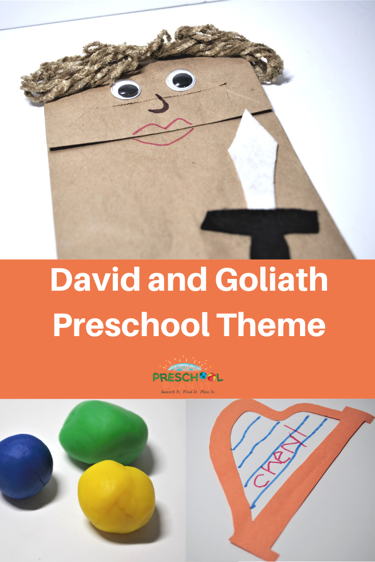 David and Goliath Preschool Theme