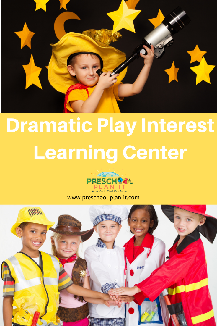 Dramatic Play Interest Learning Center