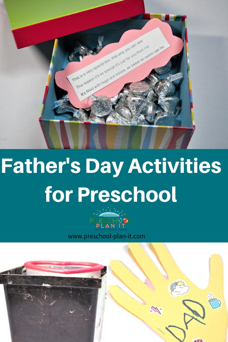 Father's Day Activities for Preschoolers