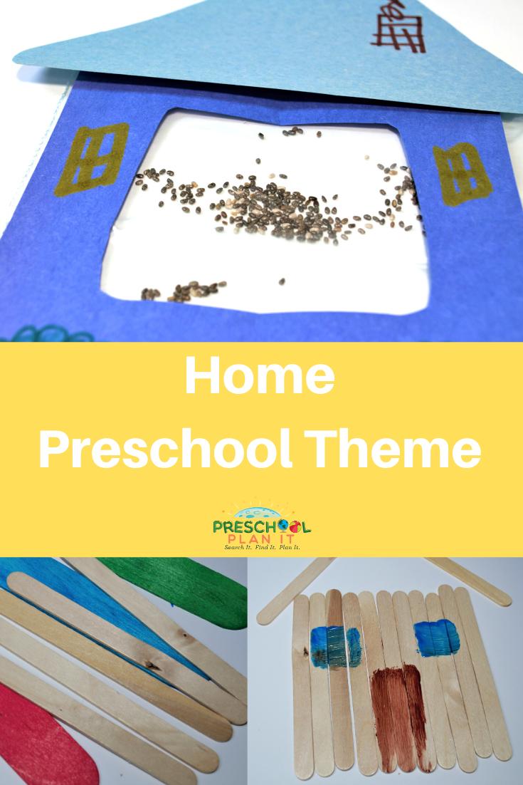 Home Preschool Theme