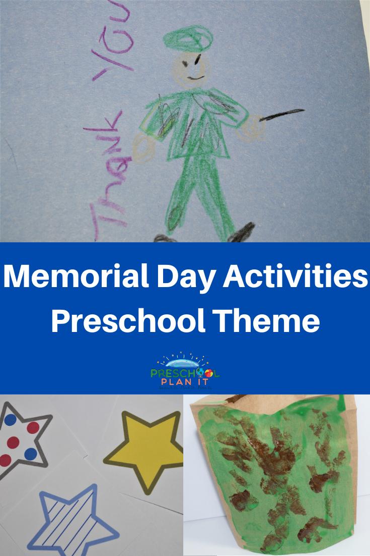 Preschool Memorial Day Activities