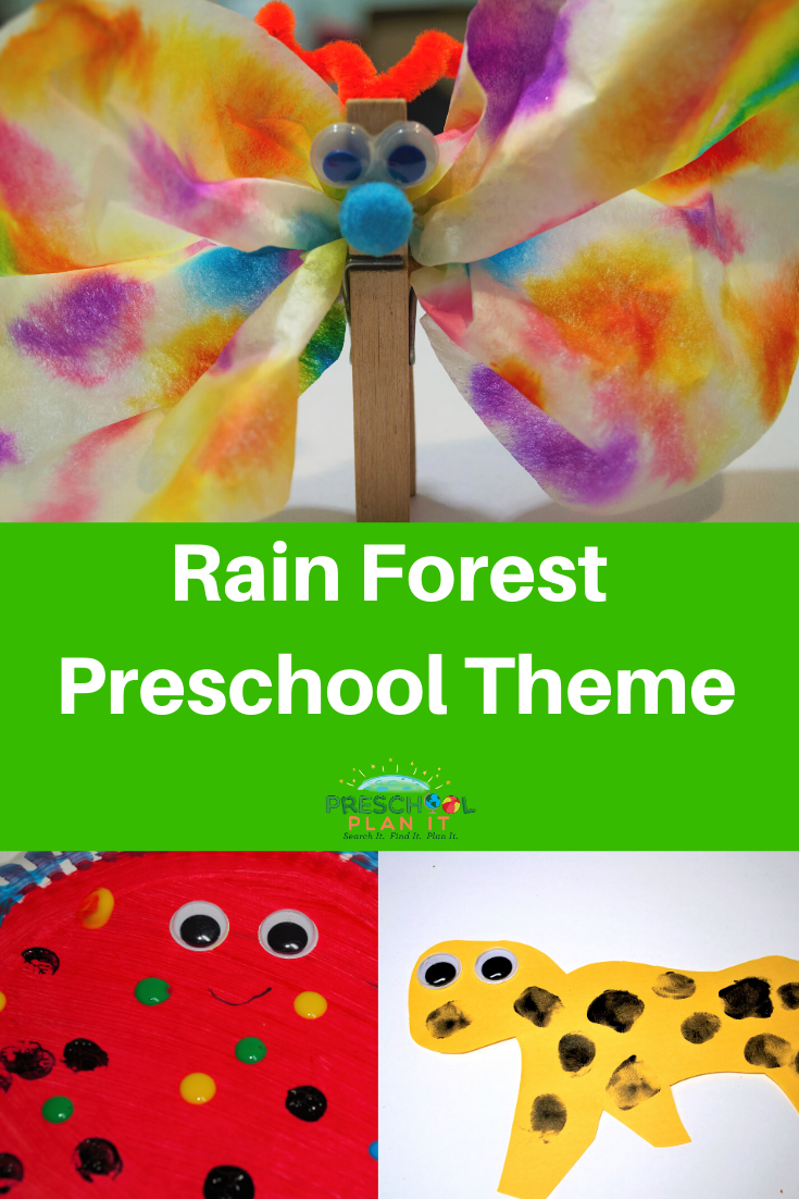 Rain Forest Preschool Theme