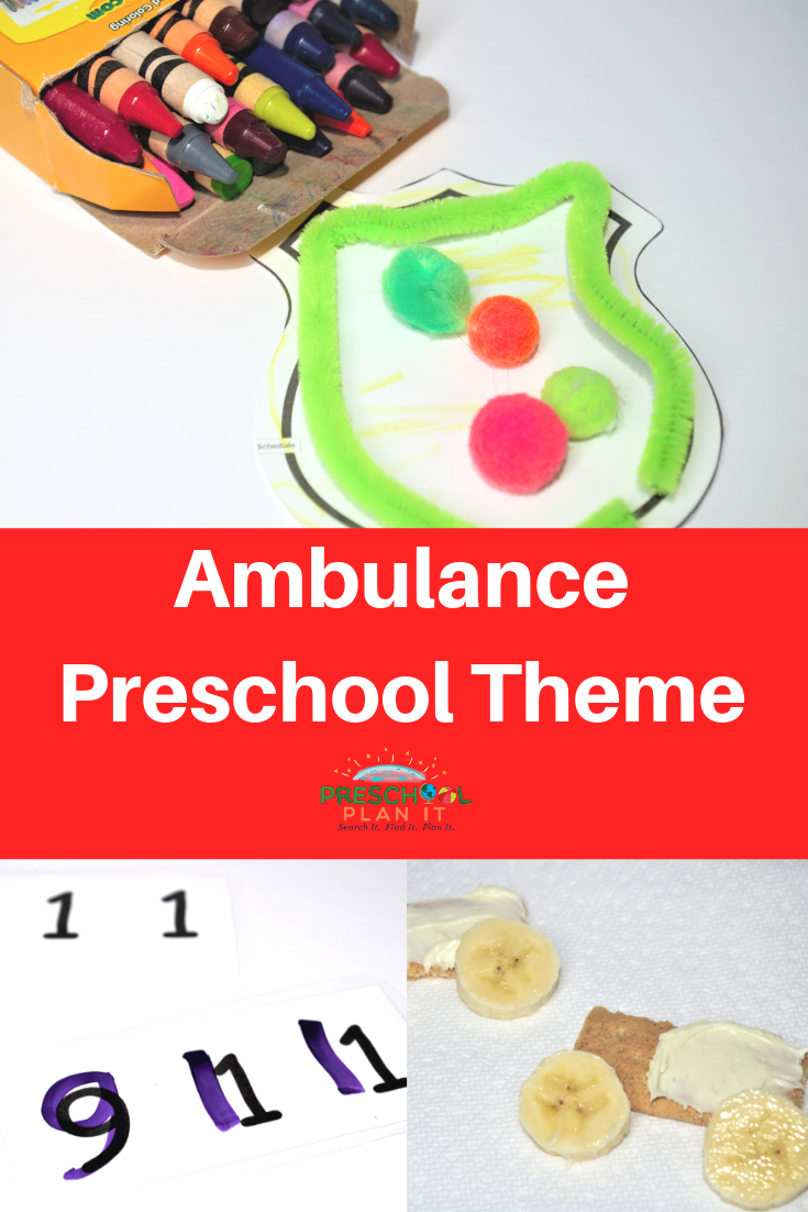 Community Helper Ambulance Preschool Theme
