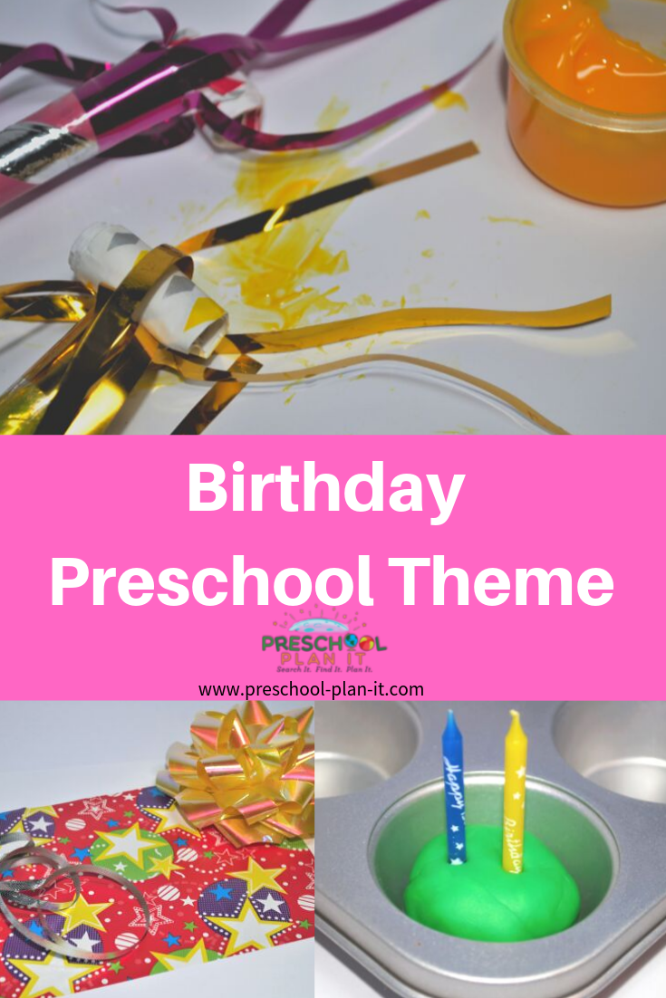 Birthday Preschool Theme