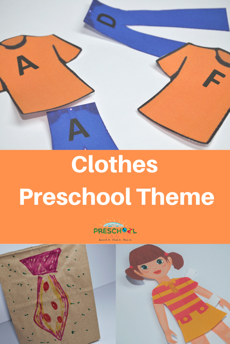 Clothes Preschool Theme