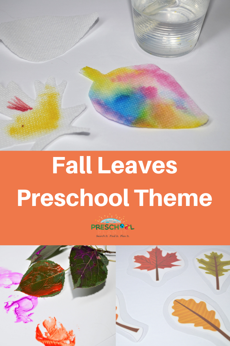 Fall Leaves Preschool Theme