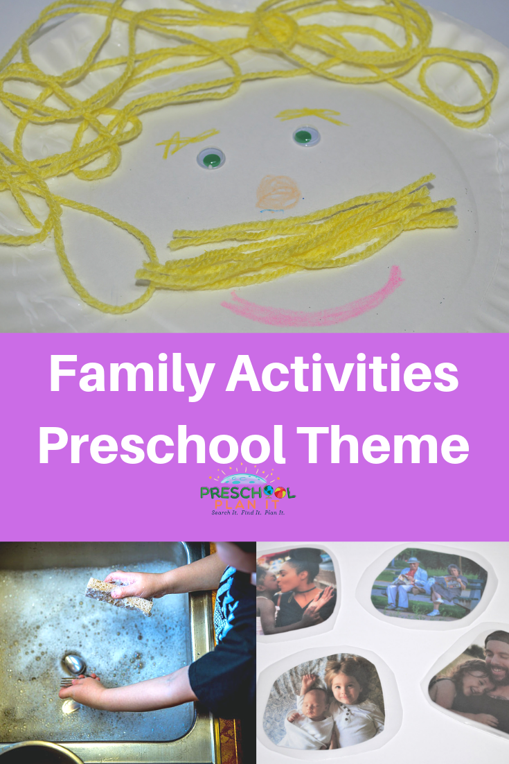 Family Activities Preschool Theme