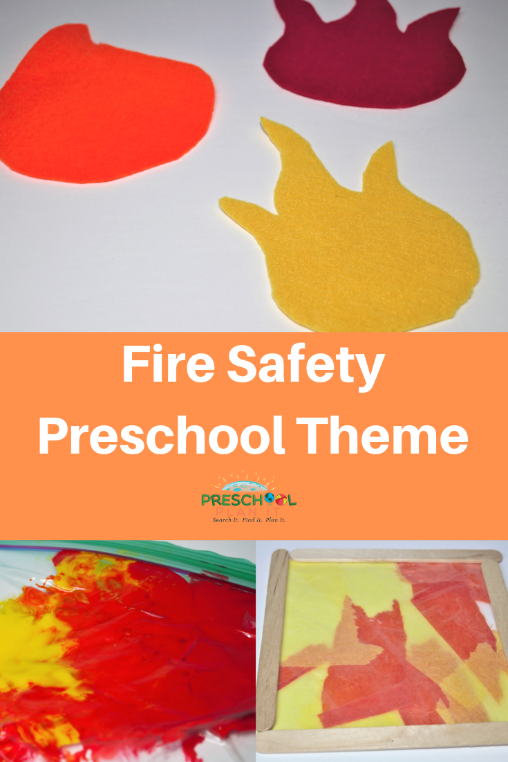 Fire Safety Preschool Theme