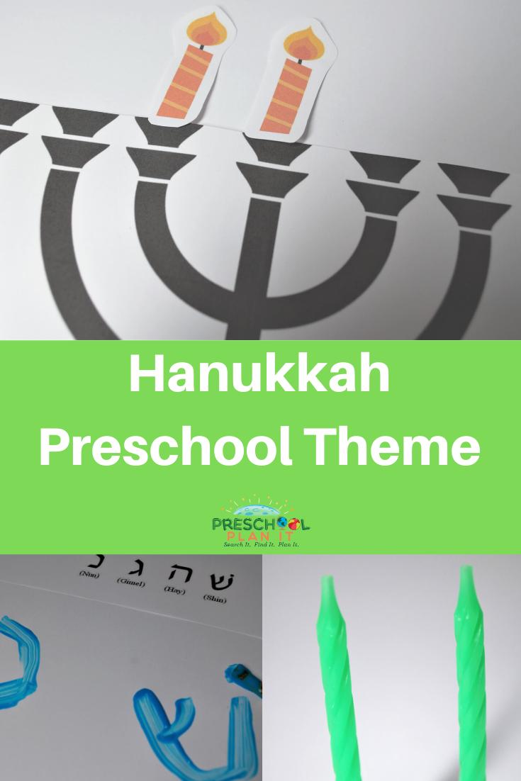 Hanukkah Activities Preschool Theme
