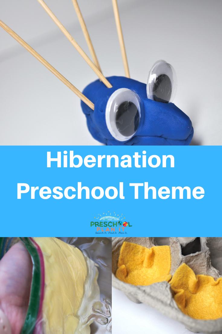 Hibernation Theme for Preschool
