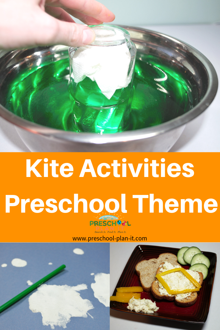 Kite Activities and Wind Preschool Theme