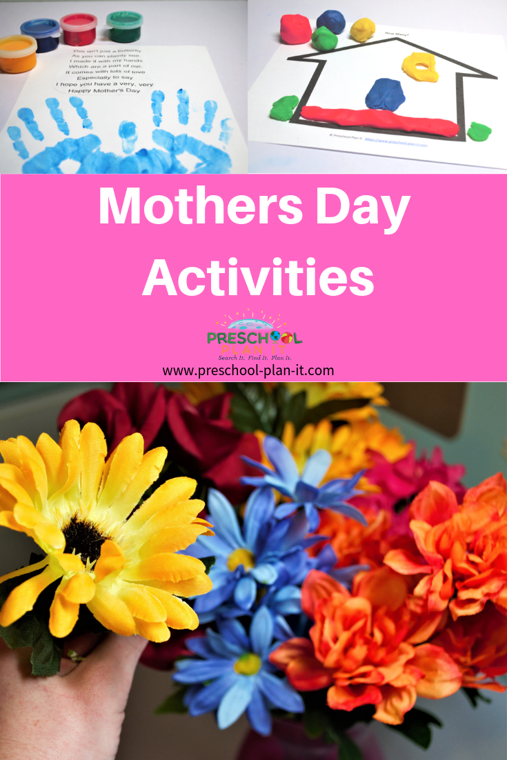 Mothers Day Theme and Activities for Preschool!