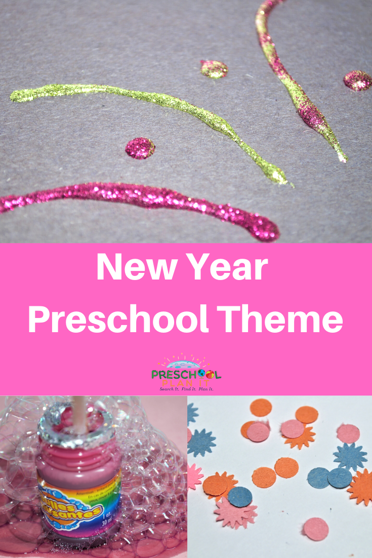 New Years Preschool Theme