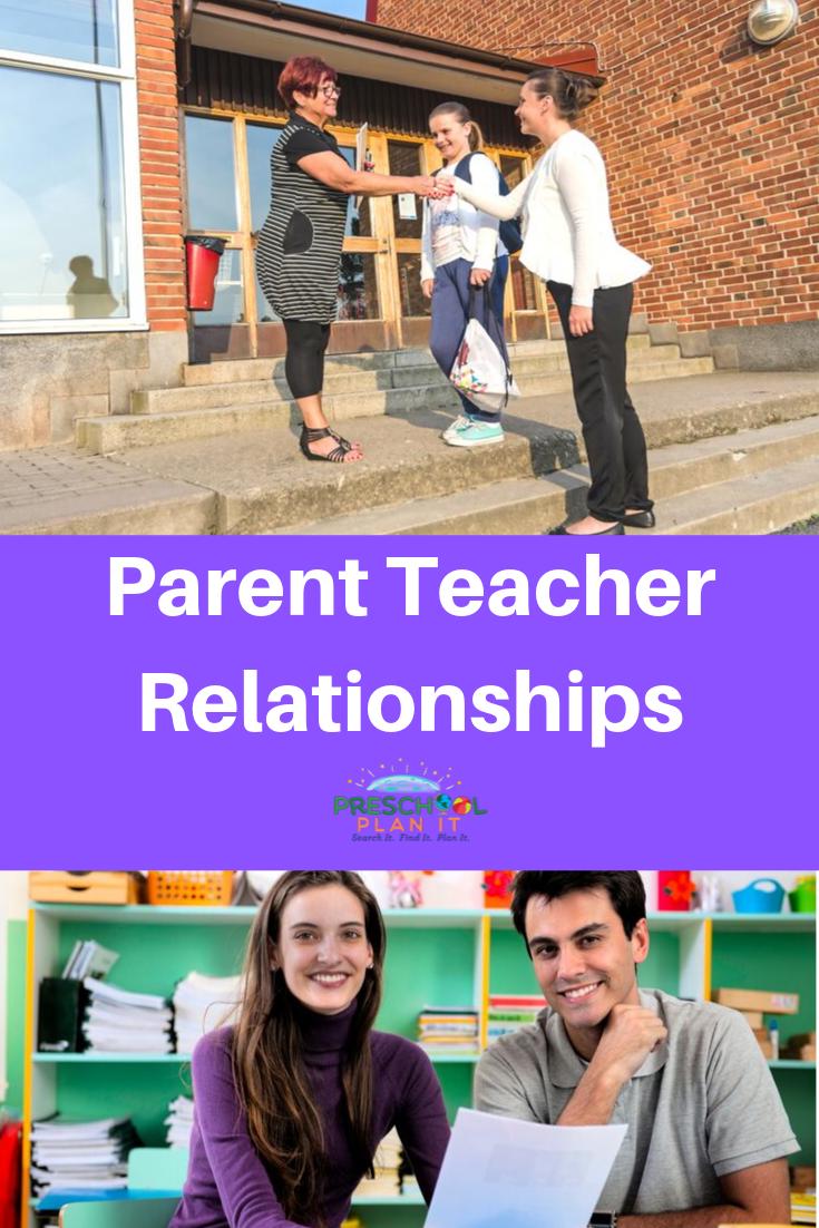 Building Parent Teacher Relationships