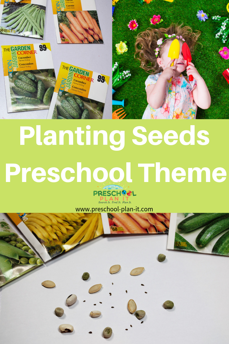 Planting Seeds Theme for Preschoolers