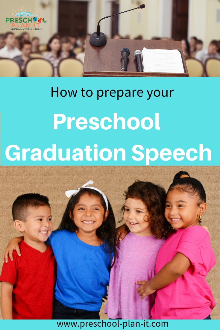 384743350a5 Preschool Graduation Speech