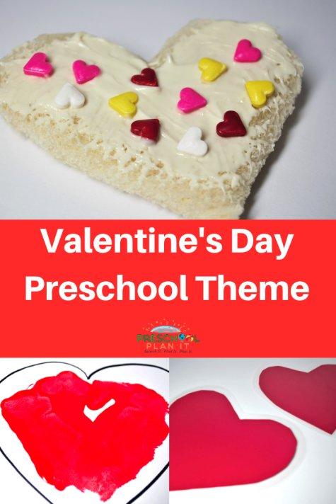 Preschool Valentines Day Theme