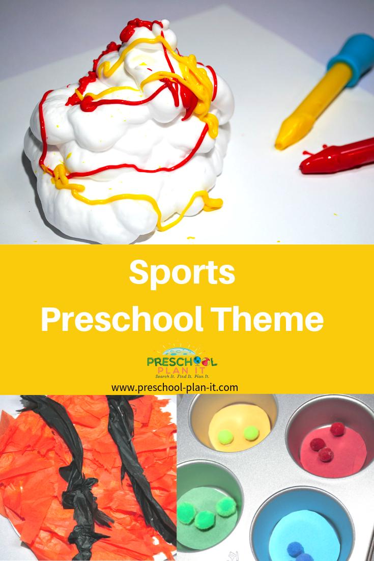 Sports Theme for Preschool