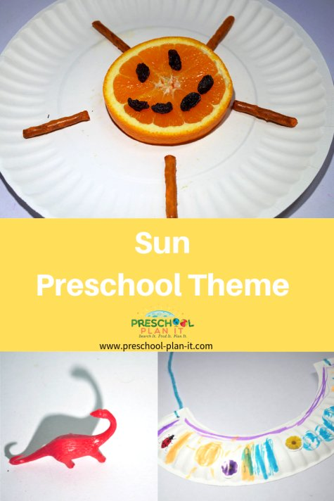 Sun Theme for Preschool