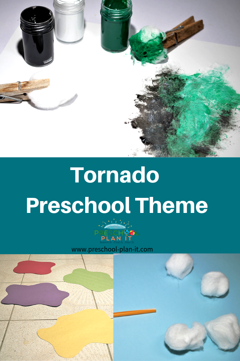 Tornado Preschool Theme