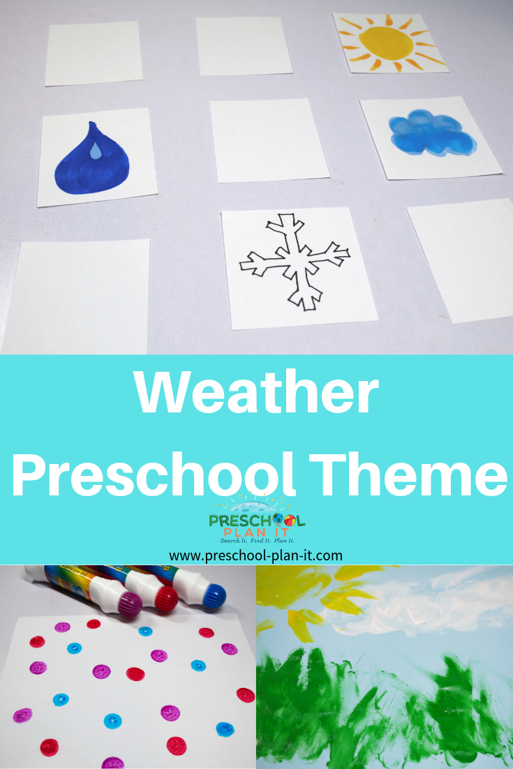 Weather Preschool Theme