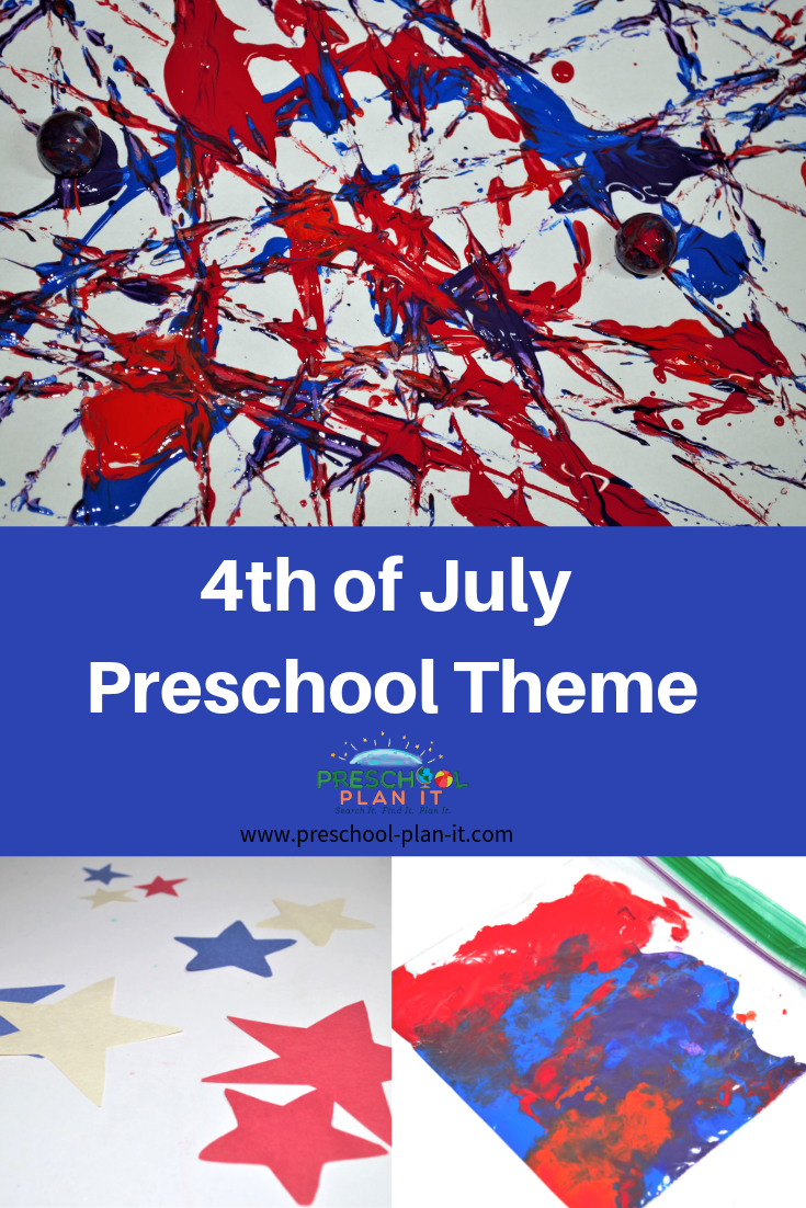 4th of July Preschool Theme