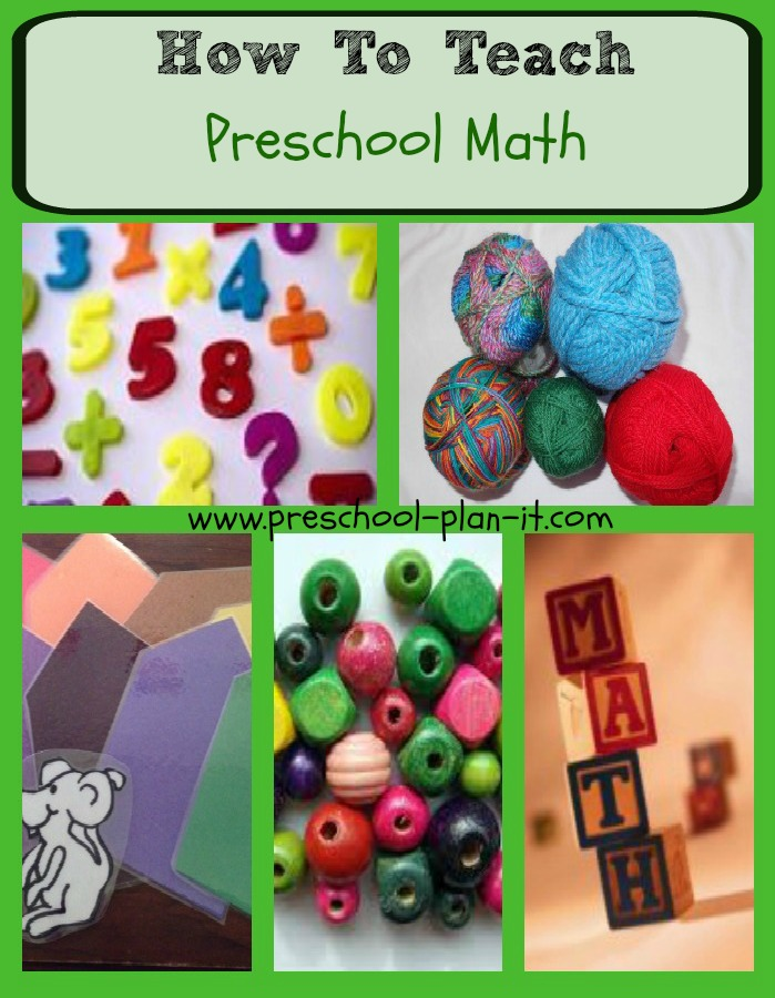 How To Teach Preschool Math
