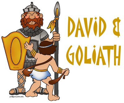David And Goliath Bible Crafts For Preschoolers