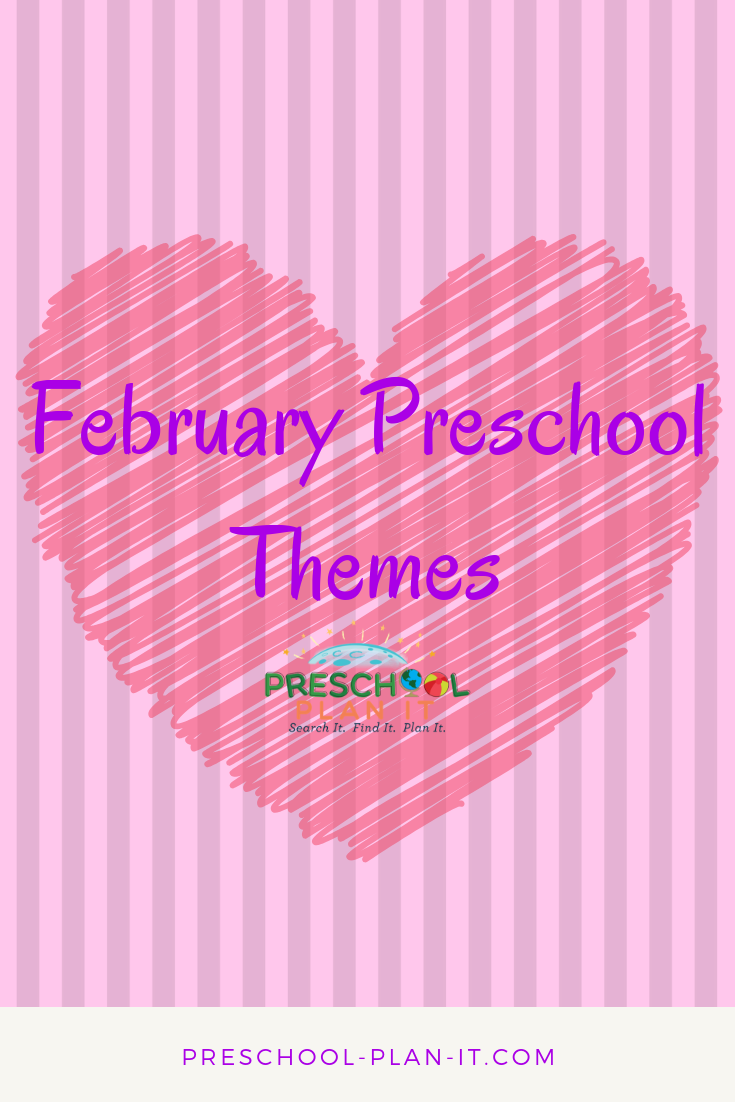 Preschool Monthly Themes