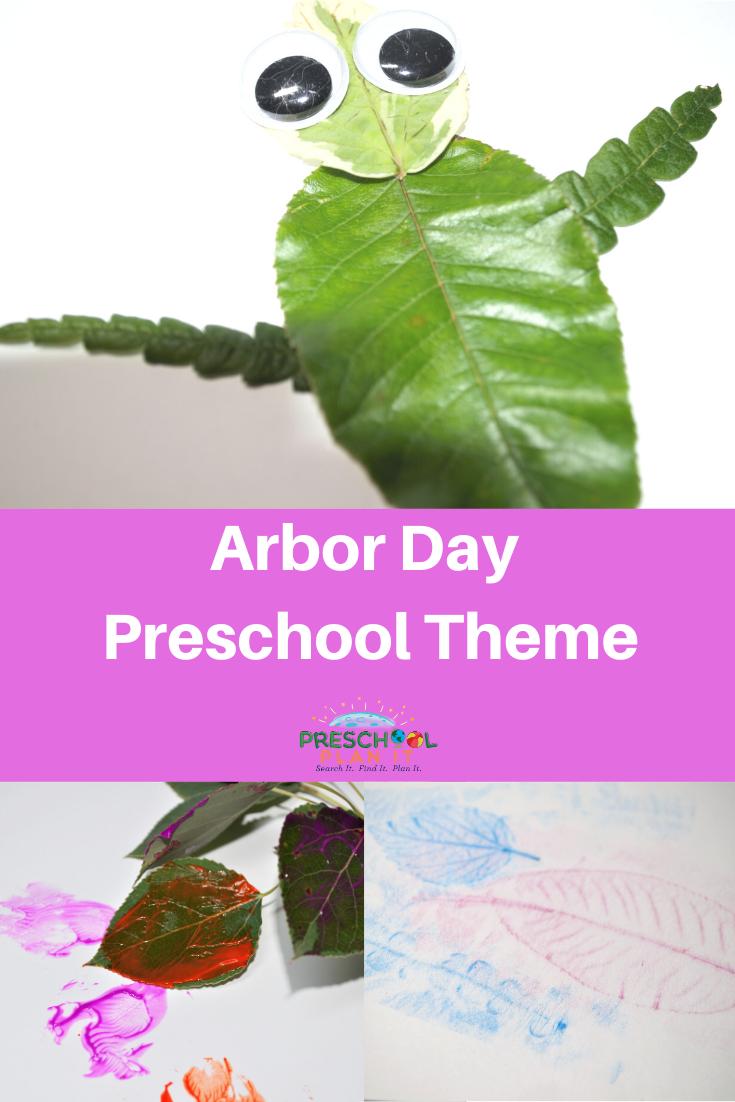 Arbor Day Preschool Theme