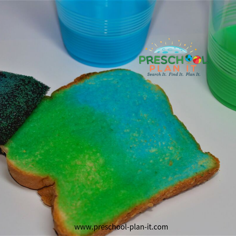 Preschool Bread Theme Snack Idea