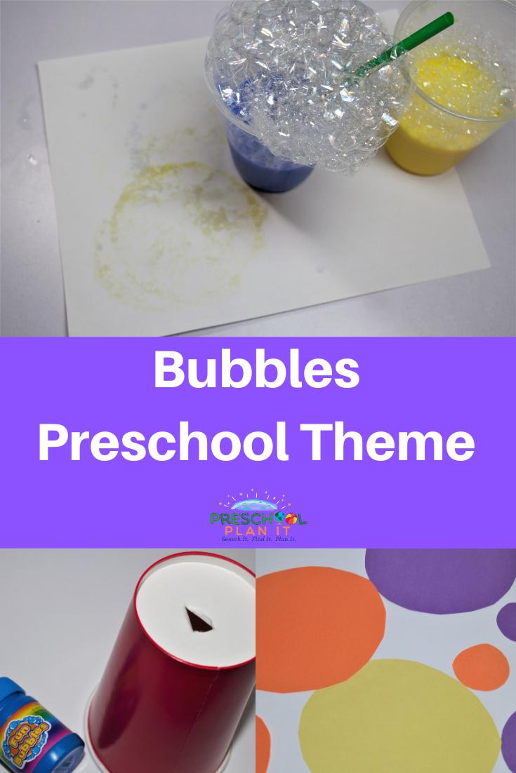 Bubbles Theme for Preschool