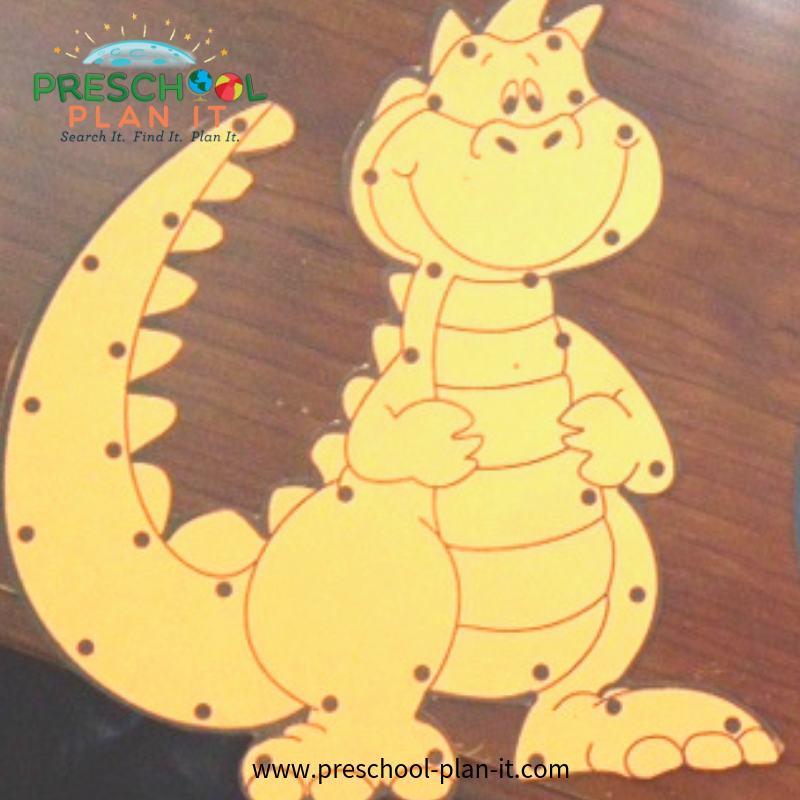 Castles, Dragons, Kings and Queens Preschool Theme Gross Motor Activity