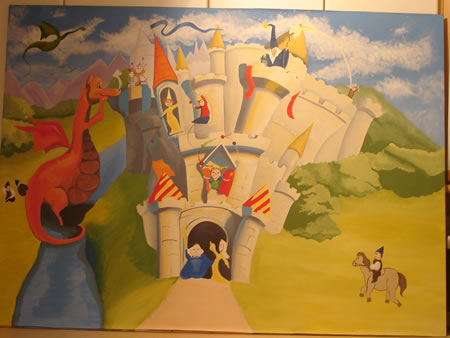 Castles, Dragons, Kings & Queens Preschool Theme