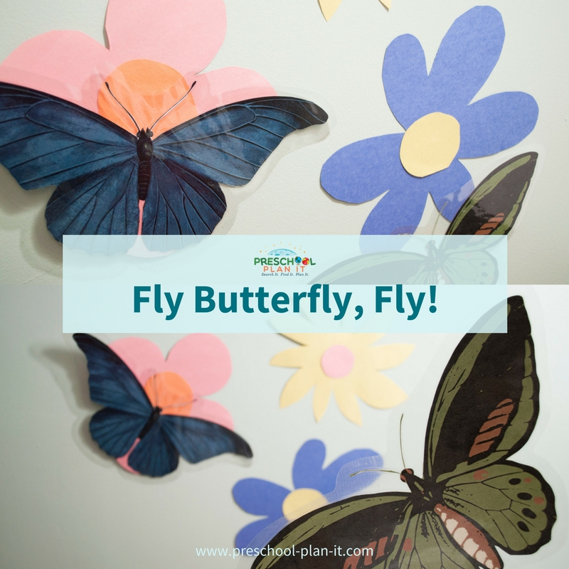Butterfly game for preschool