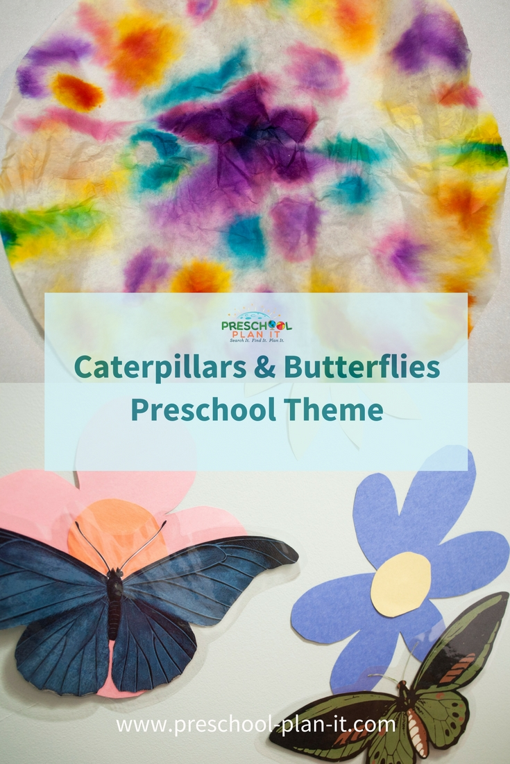 Caterpillars And Butterflies Preschool Theme