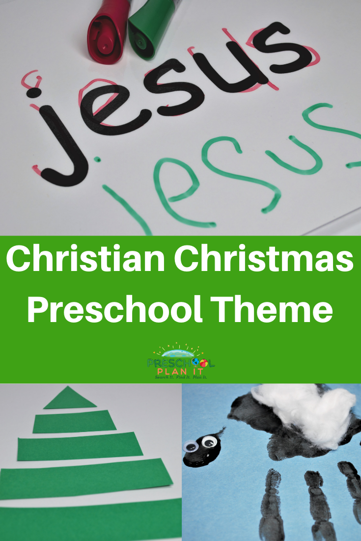 Christian Christmas Theme for Preschool