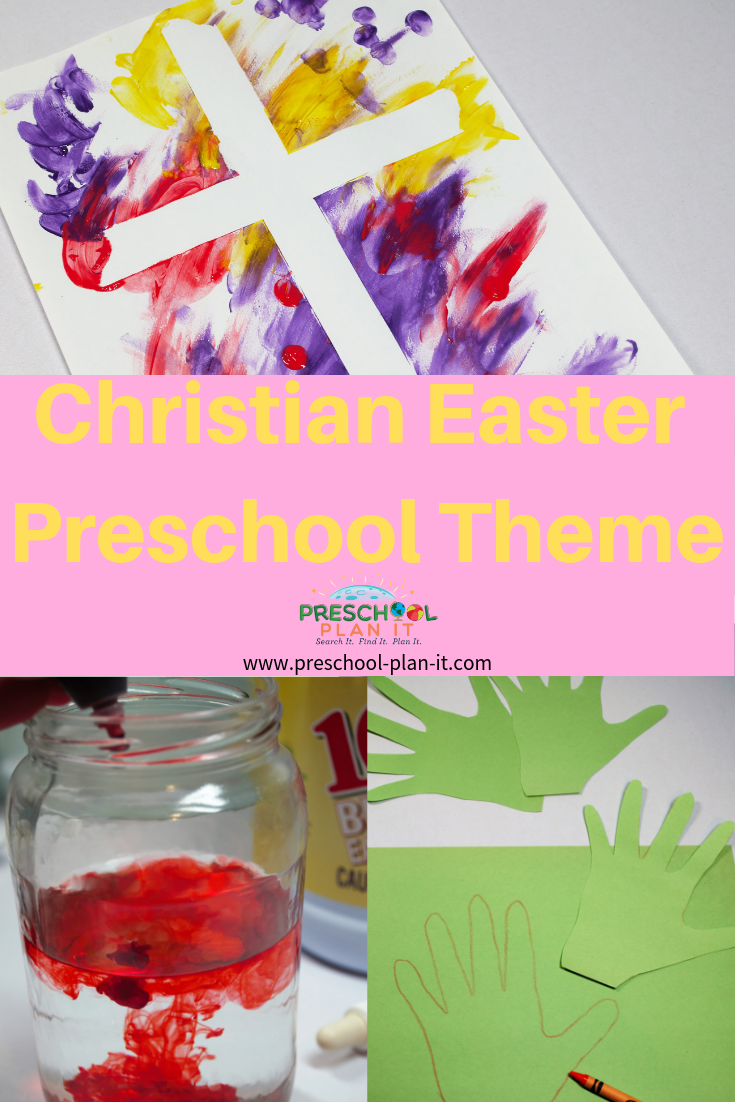 Christian Easter Activities for Preschoolers