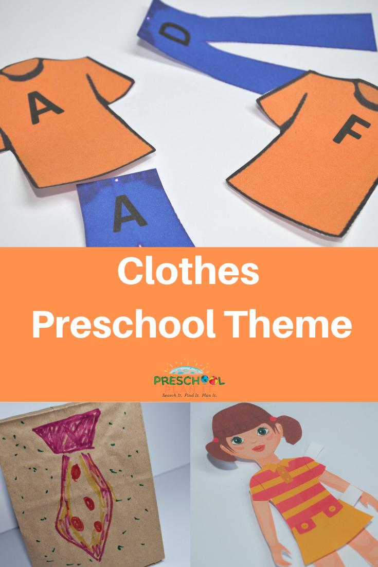 Clothes Preschool Theme