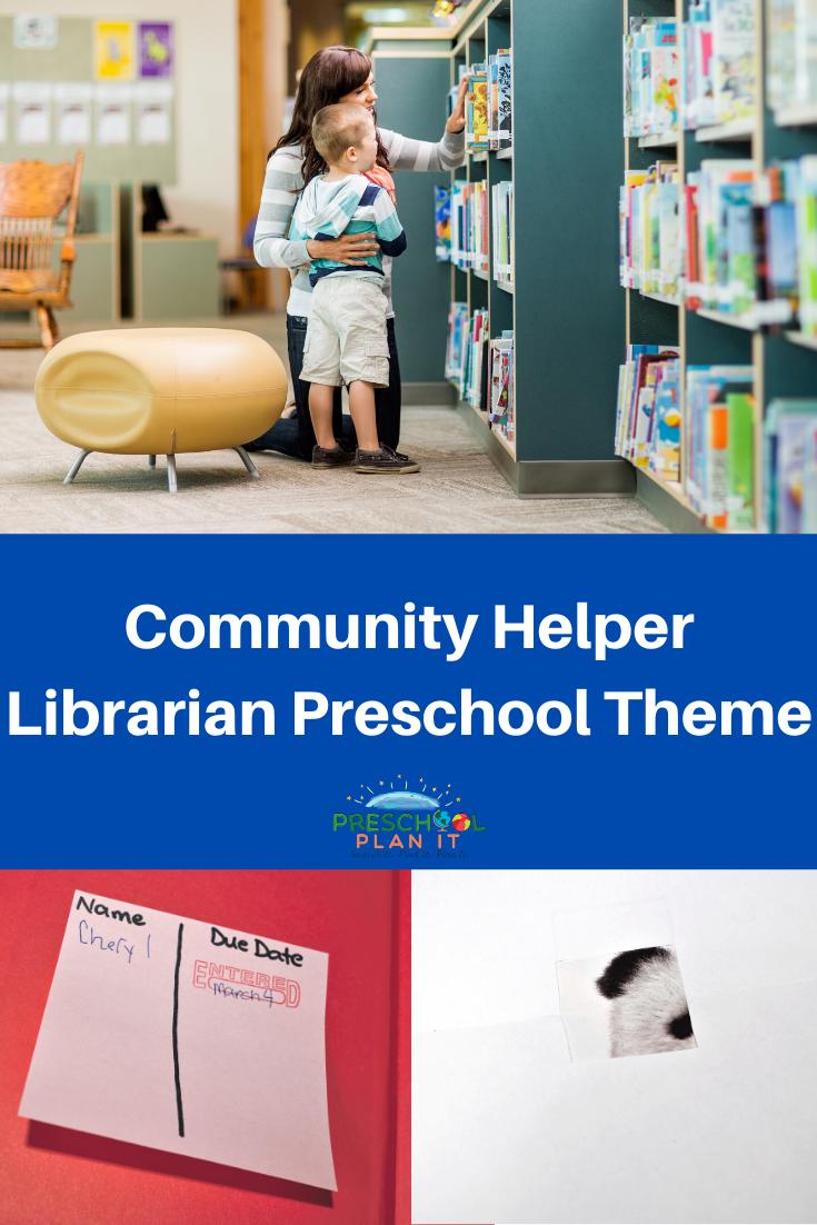 Community Helper Librarian Theme