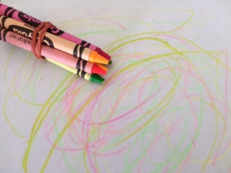 Preschool Crayon Art