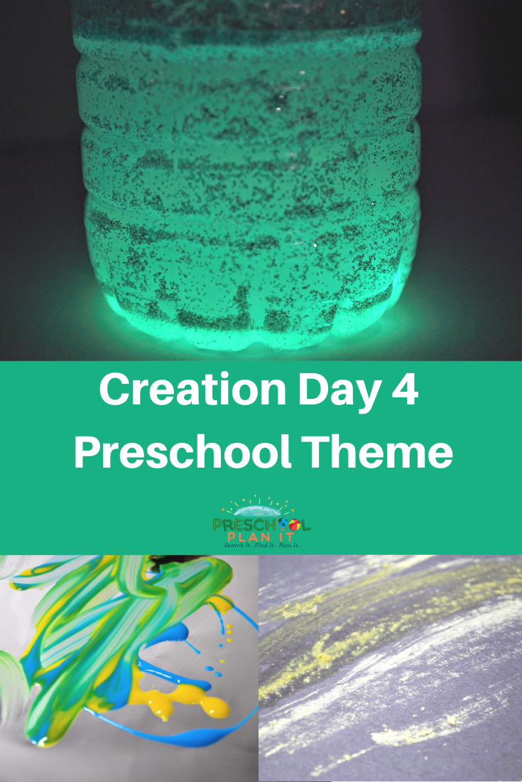 Creation Day 4 Preschool Theme