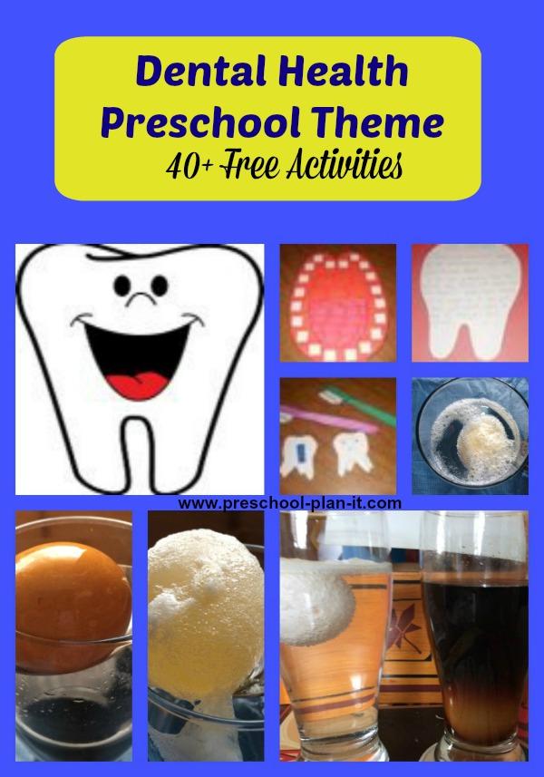 Dental Health Worksheets For Preschoolers