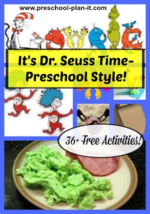 Dr. Seuss Preschool Theme