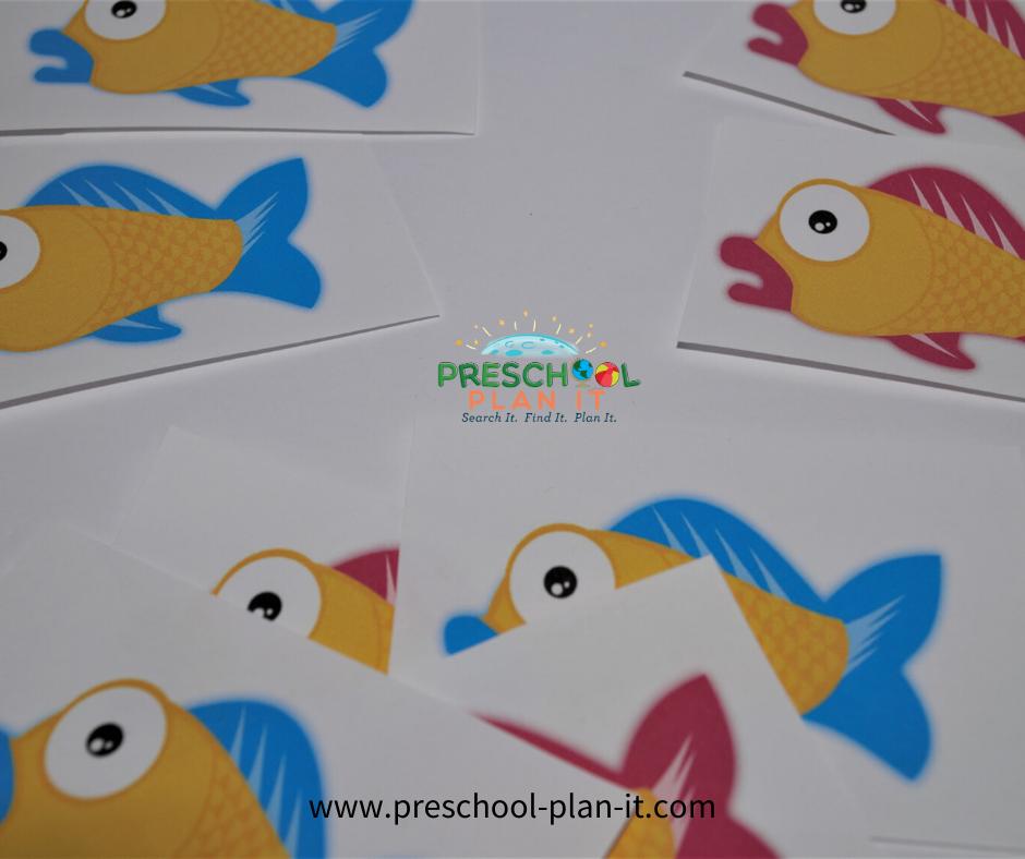 Dr Seuss Preschool Theme Matching Game