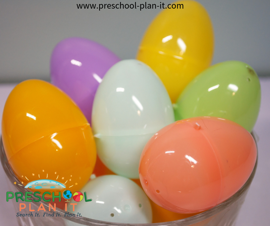 Coloring Eggs Easter Activities for an Easter Preschool Theme