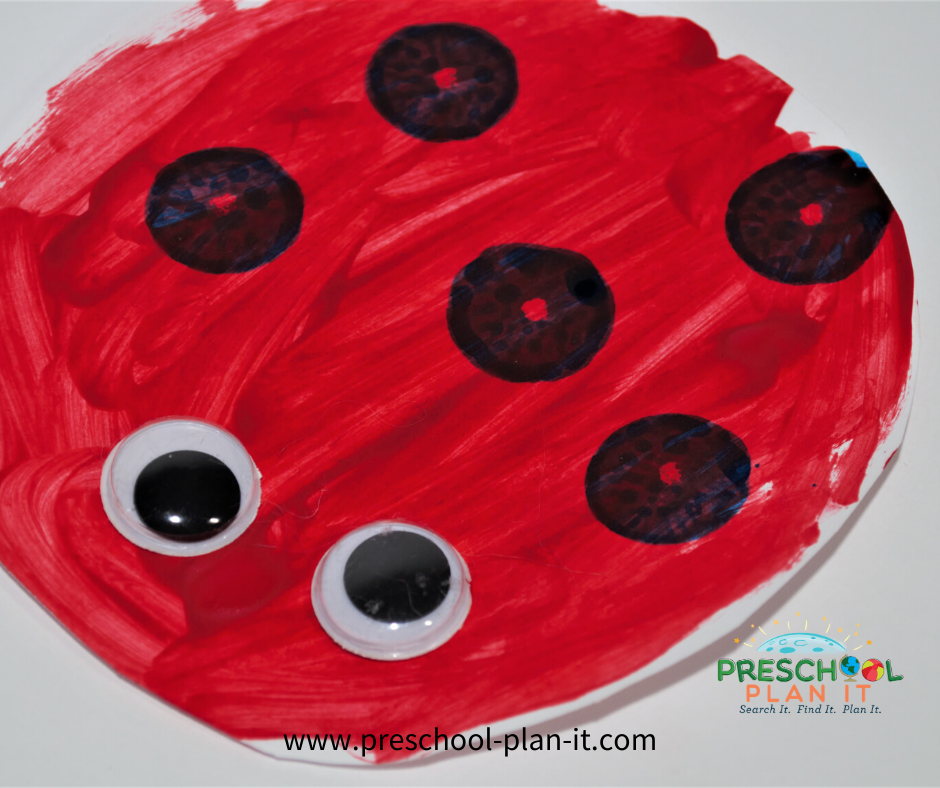 Eric Carle Preschool Theme Art Activity